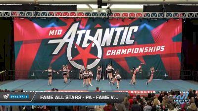 FAME All Stars - PA - Fame Vicious [2020 L4 Senior - Small Day 1] 2020 Mid-Atlantic Championships