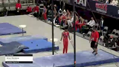 Kiran Mandava - Still Rings, Cypress Academy - 2021 US Championships