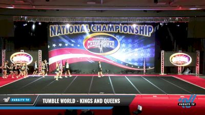 Tumble World - Kings and Queens [2021 L6 Senior Coed Open - Small Day 2] 2021 ACP: Midwest World Bid National Championship