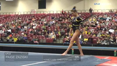 Paige Zaziski - Floor, Michigan - Elevate the Stage - Toledo (NCAA)