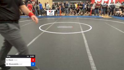 Full Replay - 2019 Last Chance Senior World Team Trials Qualifier - Mat 1 - May 3, 2019 at 2:56 PM EDT