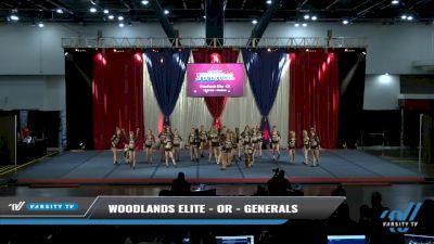 Woodlands Elite - OR - Generals [2021 L6 Senior - Medium Day 2] 2021 The American Spectacular DI & DII