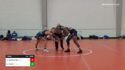 174 lbs Prelims - Stephon Halliburton, Queens University Of Charlotte vs Kolton Clark, VT Unattached