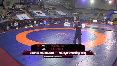 70 kg Final 3-5 - Sebastian Alejandro Sosa Sanchez, Paraguay vs Enrique Josue Perez Castellanos, Guatalema