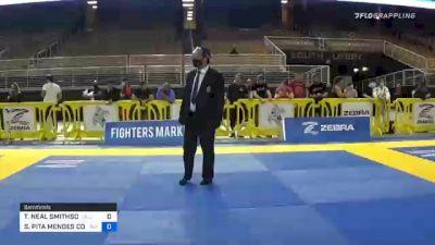 TAMARA NEAL SMITHSON vs SANDRA PITA MENDES CONGILIO 2020 World Master IBJJF Jiu-Jitsu Championship