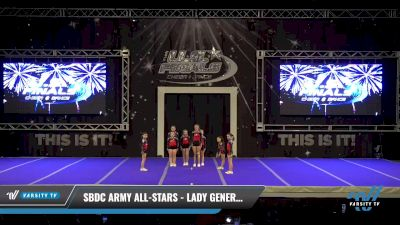 SBDC Army All-Stars - Lady Generals [2021 L1 Youth Day 2] 2021 The U.S. Finals: Ocean City