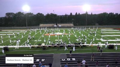 Madison Scouts - Madison WI at 2021 Rotary Music Festival