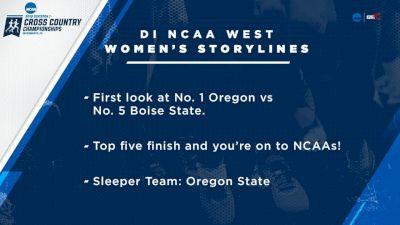 2018 DI NCAA West XC Regional Women's 6k