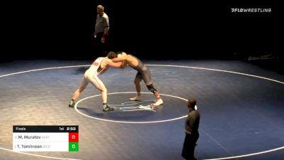 197 lbs Final - Majid Muratov, Northwest vs Tucker Tomlinson, Western Wyoming