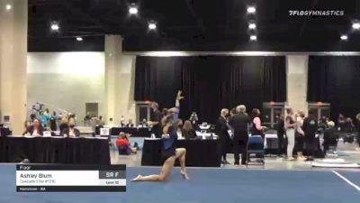 Ashley Blum - Floor, Cascade Elite #1210 - 2021 USA Gymnastics Development Program National Championships