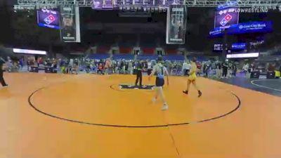 132 lbs Consi Of 8 #2 - Dyson Dunham, Virginia vs Christopher Martino, Idaho