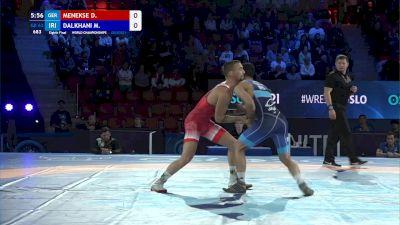 63 kg 1/8 Final - Deniz Menekse, Germany vs Meysam Dalkhani, Iran