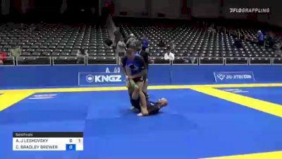 ANDREW J LESHOVSKY vs CHRISTOPHER BRADLEY BREWER 2021 World IBJJF Jiu-Jitsu No-Gi Championship