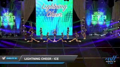 Lightning Cheer - Ice [2020 L3 Senior Day 1] 2020 Feel The Power East