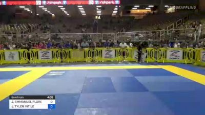 JOSHUA EMMANUEL FLORES vs JOHN TYLER INTILE 2021 Pan Kids Jiu-Jitsu IBJJF Championship