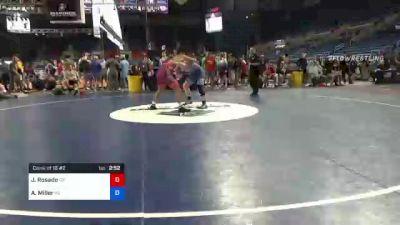 170 lbs Consi Of 16 #2 - Jackson Rosado, Oregon vs Ayden Miller, Pennsylvania