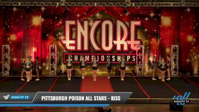Pittsburgh Poison All Stars - Kiss [2021 L5 Senior - D2 Day 2] 2021 Encore Championships: Pittsburgh Area DI & DII