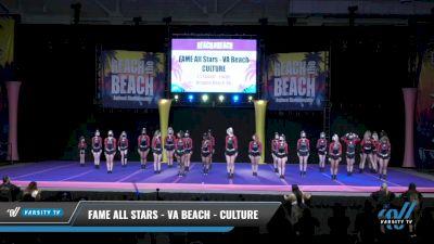 FAME All Stars - VA Beach - CULTURE [2021 L5 Senior - Large Day 1] 2021 ACDA: Reach The Beach Nationals