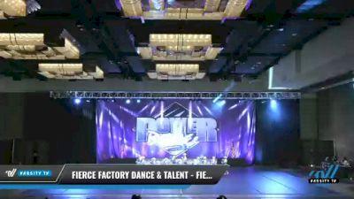 Fierce Factory Dance & Talent - Fierce Factory - Mini Pom [2021 Mini - Pom Day 2] 2021 ACP Power Dance Nationals & TX State Championship