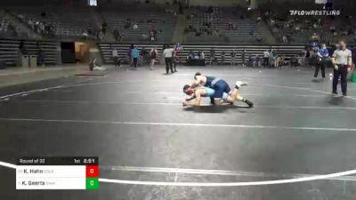 165 lbs Prelims - Kody Hahn, Colby vs Keaton Geerts, Iowa Central