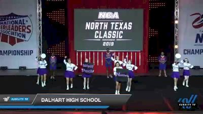 - Dalhart High School [2019 Game Day Cheer - Small High School Day 1] 2019 NCA North Texas Classic