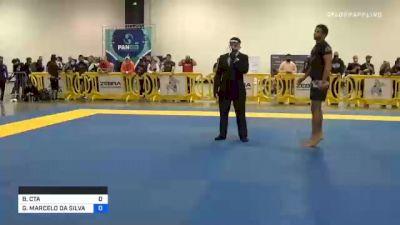 SAMIR JOSÉ CHANTRE DAHÁS vs GIOVANNI MARCELO DA SILVA CARVAL 2020 IBJJF Pan No-Gi Championship