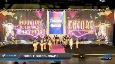Tumble Queen - Snap 6 [2020 L6 Senior Coed Open - Small Day 1] 2020 Encore Championships: Houston DI & DII