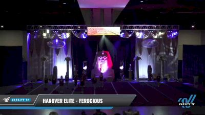 Hanover Elite - Ferocious [2021 L1 Youth - D2 - Small Day 1] 2021 Queen of the Nile: Richmond