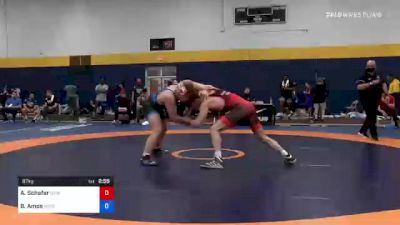 97 kg 3rd Place - Austin Schafer, New York Athletic Club vs Braxton Amos, Wisconsin Regional Training Center