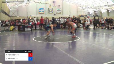 70 kg Rr Rnd 1 - Alec Pantaleo, TMWC/ Michigan vs Jimmy Hoffman, Lehigh Valley Wrestling Club