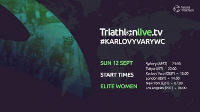 Replay: World Triathlon Cup: Karlovy Vary | Sep 12 @ 10 AM