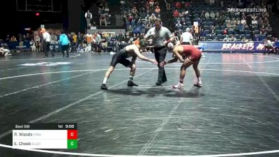 141 lbs Quarterfinal - Real Woods, Stanford vs Evan Cheek, Cleveland State