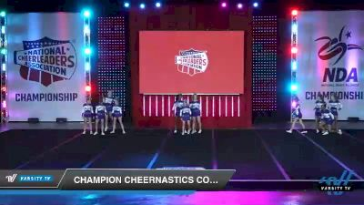 - Champion Cheernastics Cobalt [2019 Junior - Small 3 Day 1] 2019 NCA North Texas Classic