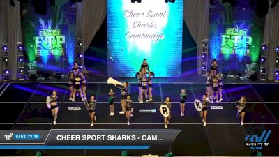 Cheer Sport Sharks - Cambridge - Smallfin Sharks [2020 L6 International Global Day 2] 2020 Feel The Power East