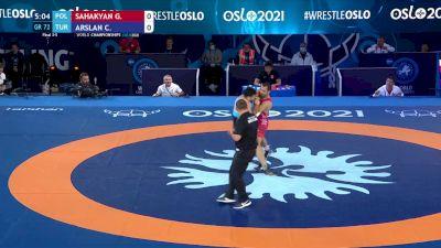 72 kg Final 3-5 - Gevorg Sahakyan, Poland vs Cengiz Arslan, Turkey