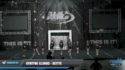 GymTyme Illinois - Bettys [2021 L1 Youth - Small Day 1] 2021 The U.S. Finals: Louisville