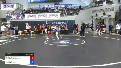 136 lbs Prelims - Savanna McCutchen, Missouri Valley vs Jaimes Clark, Baker