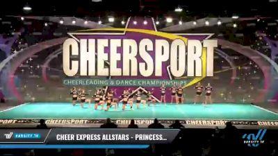 Cheer Express Allstars - Princess Elite [2021 L1 Senior Day 2] 2021 CHEERSPORT National Cheerleading Championship
