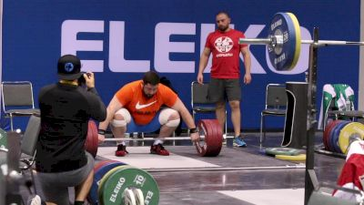 Lasha Talakhadze (GEO, +105) Snatches 190kg In The Training Hall At 2017 Worlds
