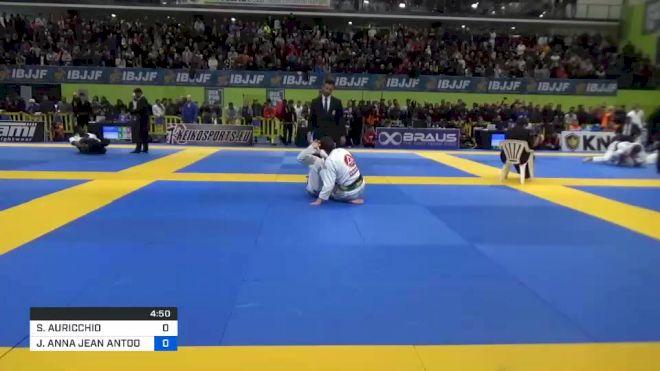 SIMONE AURICCHIO vs JORDY ANNA JEAN ANTOON PEUTE 2020 European Jiu-Jitsu IBJJF Championship