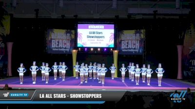 LA All Stars - Showstoppers [2021 L4 Junior - Medium Day 2] 2021 ACDA: Reach The Beach Nationals