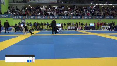 ELIEZER SKAF vs GUSTAVO ELIAS 2019 European Jiu-Jitsu IBJJF Championship