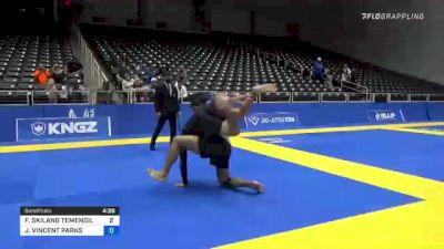 FLORIAN SKILANG TEMENGIL vs JOSH VINCENT PARKS 2021 World IBJJF Jiu-Jitsu No-Gi Championship