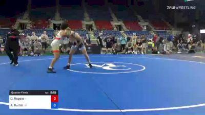 182 lbs Quarterfinal - Dante Roggio, Idaho vs Asher Ruchti, Oregon