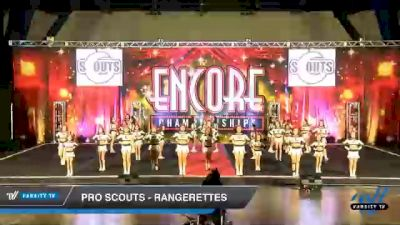 Pro Scouts - Rangerettes [2020 L3 Junior - D2 - Medium Day 2] 2020 Encore Championships: Houston DI & DII