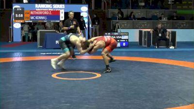 65 kg Consolation - Zain Retherford, USA vs Joey McKenna, USA