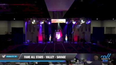 FAME All Stars - Valley - SAVAGE [2021 L5 Junior Day 2] 2021 Queen of the Nile: Richmond