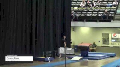 Frances Glenn - Women's Group, Mini-Hops Gymnastics - 2021 Women's Xcel Region 4 Championships