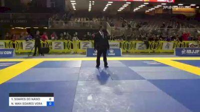 YARA SOARES DO NASCIMENTO vs NATHALIE WAN SOARES VERAS RIBEIR 2021 Pan Jiu-Jitsu IBJJF Championship