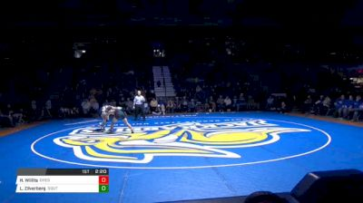 157 lbs Hunter Willits, Oregon State vs Luke Zilverberg, South Dakota State